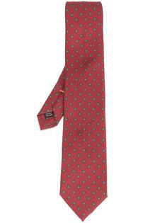 flower print tie Simeone Napoli