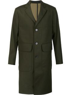 пальто с накладными карманами Officine Generale