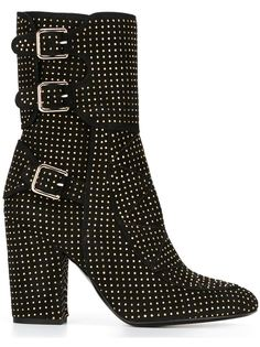 фактурные ботинки с заклепками Laurence Dacade