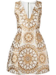 платье с цветочным узором Alice+Olivia
