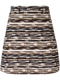 твидовая юбка Carven