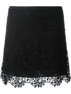 юбка с цветочной вышивкой Nº21