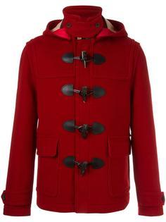 короткое пальто дафлкот Burberry