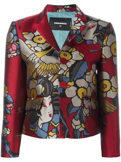 'Blossom' fitted jacket Dsquared2