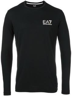 fine knit sweatshirt Ea7 Emporio Armani
