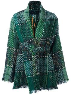 объемная куртка с поясом Etro