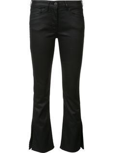 расклешенные укороченные джинсы 3X1