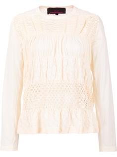 woven blouse Comme Des Garçons Tricot