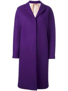 удлиненное однобортное пальто Nº21