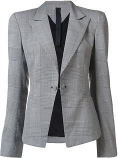 plaid single breasted blazer Gareth Pugh
