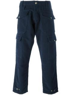 брюки-карго с карманами Bleu De Paname