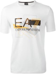 logo print T-shirt Ea7 Emporio Armani