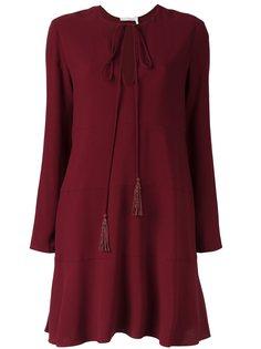 """платье с вырезом """"замочная скважина"""" Chloé"""