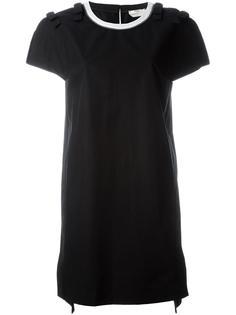 платье-футболка с бантами на плечах Fendi