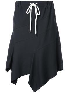 расклешенная юбка с панельным дизайном Bassike