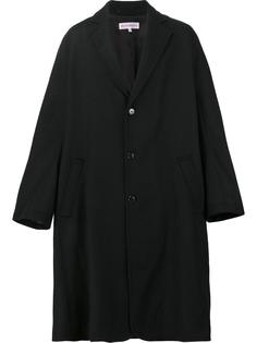 oversized single breasted coat Walter Van Beirendonck