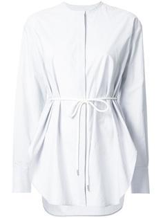 полосатая рубашка с эластичным поясом Bassike