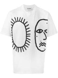 printed T-shirt Sunnei