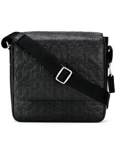 embossed logo crossbody bag  Coach