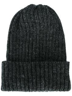 шапка-бини в рубчик Sunspel