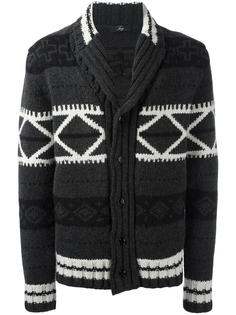 patterned cardigan  Fay