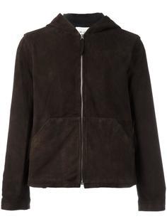 куртка с капюшоном и замшевым эффектом Our Legacy