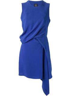 драпированное платье  McQ Alexander McQueen
