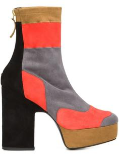colour block boots Pierre Hardy