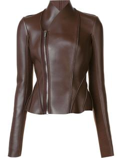 high neck zip up jacket Rick Owens Lilies
