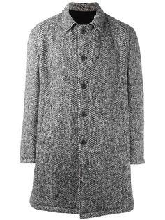 однобортное пальто Wooster + Lardini