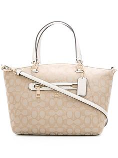 patterned tote  Coach
