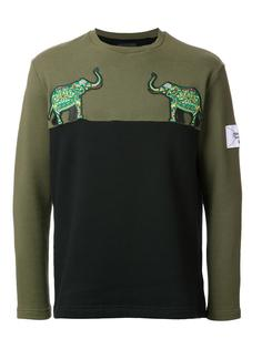 elephant patch sweatshirt  Yoshio Kubo