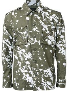 куртка с эффектом брызг краски Yoshio Kubo
