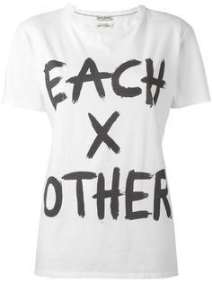 logo print T-shirt Each X Other