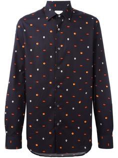 micro print shirt  Paul Smith