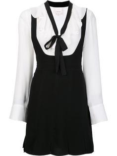 ruffled neck dress Cinq A Sept