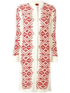 geometric pattern long cardigan Moncler Gamme Rouge