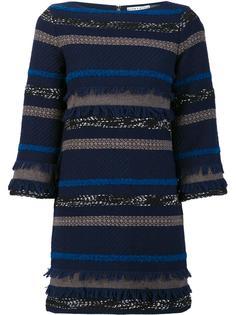 striped knit dress Alice+Olivia