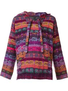 patterned hoodie  The Elder Statesman