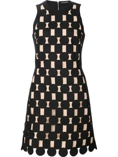 geometric panel dress David Koma