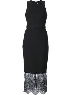 lace detailing dress Cinq A Sept