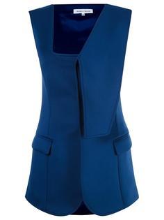 asymmetric vest Gloria Coelho