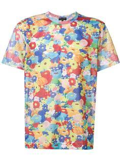 floral print T-shirt Comme Des Garçons Homme Plus