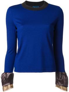 round neck blouse Kolor