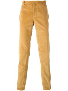 'Corn' corduroy cigarette trousers Natural Selection