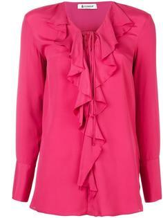 блузка с оборками Dondup