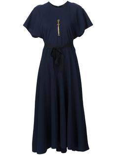платье с поясом Ellery