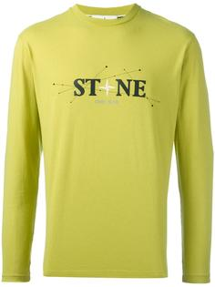 logo print sweatshirt Stone Island