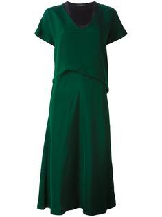 многослойное платье  Cédric Charlier