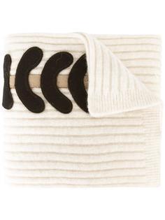 шарф с нашивками Maison Margiela